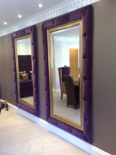 Mirror Frame Surrounds Woodcliffe Upholstery Lancashire