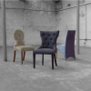 Linwood, Deep Buttoned Hat Stand & Midland Chairs