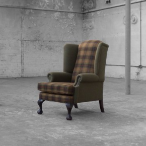 Ball & Claw Wing Chair